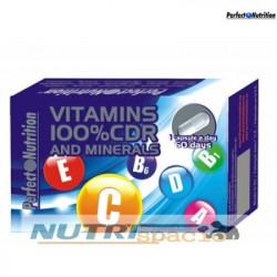 Vitamins and Minerals - 60 Capsulas