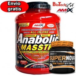 Anabolic Masster - 2,2 Kg + SuperNova - 282 gr