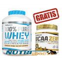 100% Pure Whey - 2270gr + BCAA Zero - 360 gr