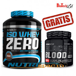 Iso Whey Zero - 2270 gr + Black Blood CAF+ - 300 gr