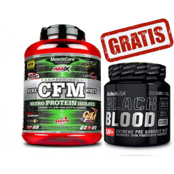 CFM Nitro Protein Isolate - 2 k + Black Blood - 330gr