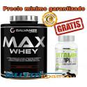 Max Whey - 2280gr + Vitamin Complex 60 caps