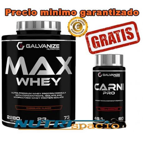 Max Whey - 2280 gr + Carni Pro - 60 caps
