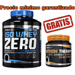 Iso Whey Zero - 2270 gr + Nitrox Therapy - 340 gr GRATIS