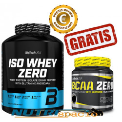 Iso Whey Zero - 2270 gr + BCAA Flash Zero - 360gr + Shaker