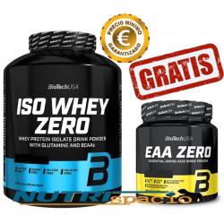 Iso Whey Zero - 2270 gr + EAA Zero - 330 gr