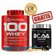 100 Whey - 2280 gr + BCAA Zero - 300 gr GRATIS