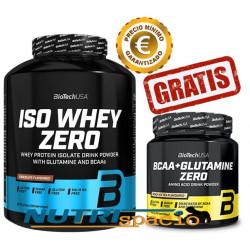 Iso Whey Zero - 2270gr + BCAA+Glutamine Zero - 480gr GRATIS