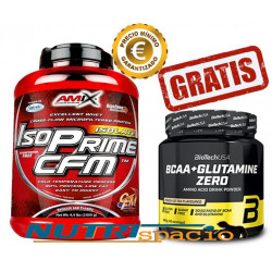 Iso Prime CFM - 2 kg + BCAA+Glutamine Zero - 480 gr GRATIS