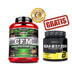 CFM Nitro Protein Isolate - 2kg + BCAA 8:1:1 Zero 250gr