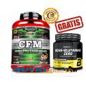 CFM Nitro Protein Isolate - 2kg + BCAA + Glutamine Zero - 480gr GRATIS