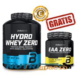 Hydro Whey Zero - 1816 + EAA Zero - 350 gr GRATIS