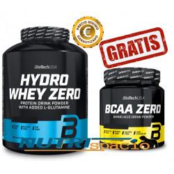 Hydro Whey Zero - 1816 gr + BCAA Zero - 360gr