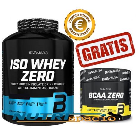 Iso Whey Zero - 2270 gr + BCAA Zero - 180 gr