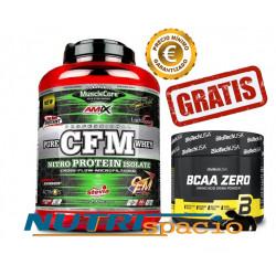 CFM Nitro Protein Isolate - 2 kg - BCAA Flash Zero - 360 gr