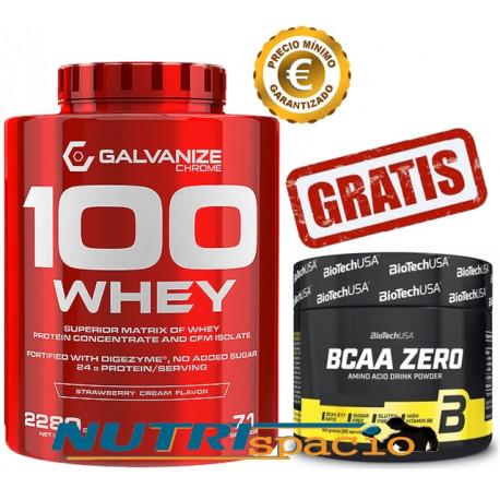100 Whey - 2280  gr + BCAA Zero - 180 gr