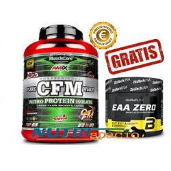 CFM Nitro Protein Isolate - 2kg + EAA Zero - 182gr GRATIS