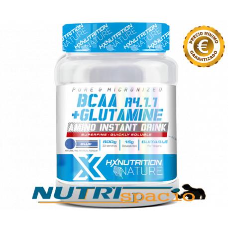 HX Nature BCAA R4.1.1 + Glutamine - 500 gr