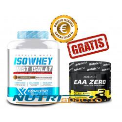 Iso Whey - 2 kg + EAA Zero - 180 gr