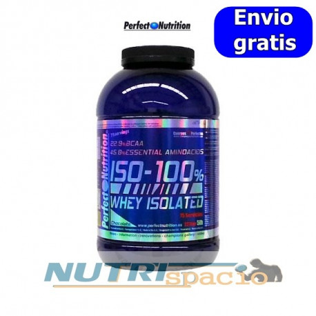 Iso-100% Whey Isolated - 5lb / 2270gr